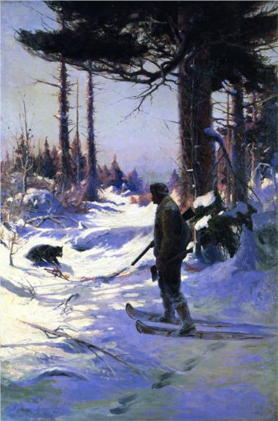 The Trapper, 1914 - Sydney Laurence