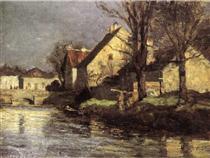 Canal, Schlessheim - Теодор Клемент Стіл