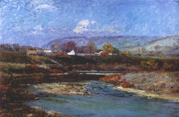 November Morning, 1904 - T. C. Steele