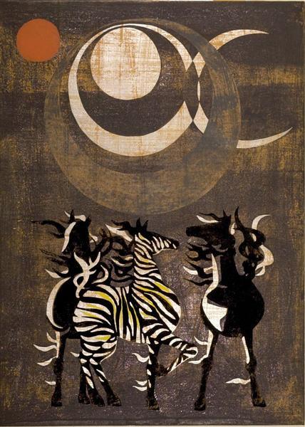 East Wind / Moon Wind, 1959 - Tadashi Nakayama