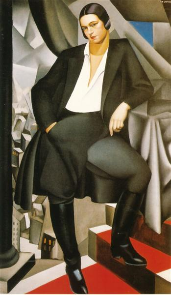 Portrait of the Duchess of La Salle, 1925 - Tamara de Lempicka