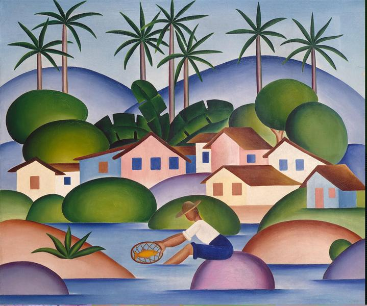 An Angler - Tarsila do Amaral