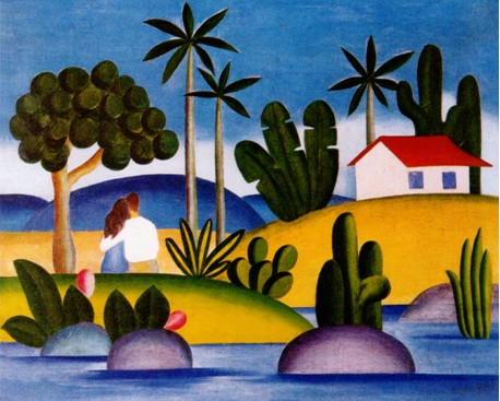 Idílio - Tarsila do Amaral