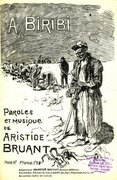 A Biribi, 1890 - Théophile Alexandre Steinlen