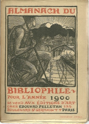 Almanach du Bibliophile Pour L'Annee, 1901 - Theophile Steinlen