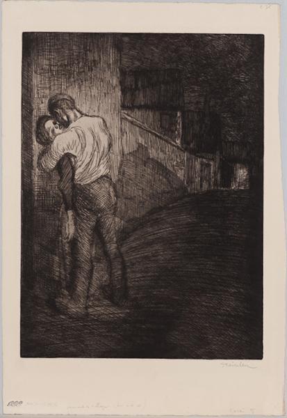 Amants de Village, 1902 - Theophile Steinlen