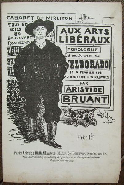 Aux Arts Liberaux, 1890 - Theophile Steinlen