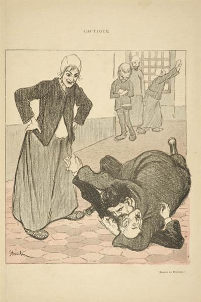 Ch-tiote, 1893 - Theophile Steinlen