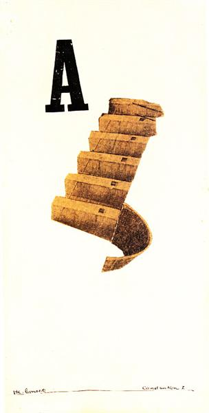 Construction I, c.1925 - Theo van Doesburg
