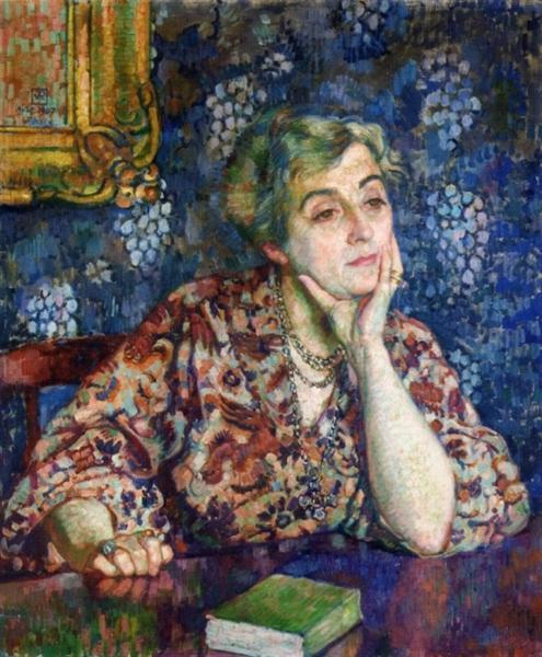 Maria van Rysselberghe in Jersey, 1907 - Theo van Rysselberghe
