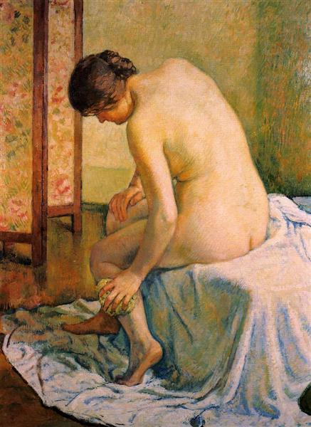 The Bather - Theo van Rysselberghe