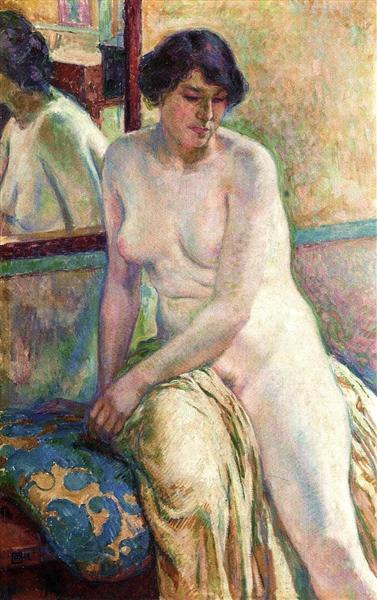 Venetian Woman (Marcella), 1912 - Theo van Rysselberghe