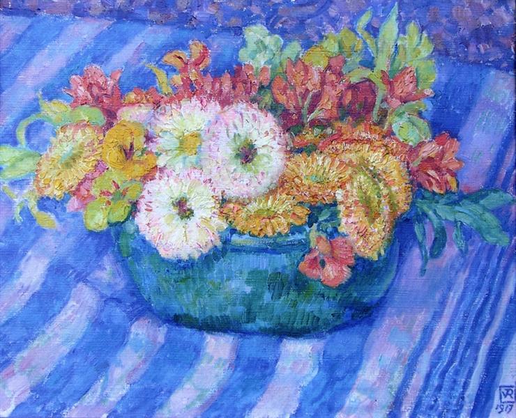 Yellow Bouquet, 1917 - Theo van Rysselberghe