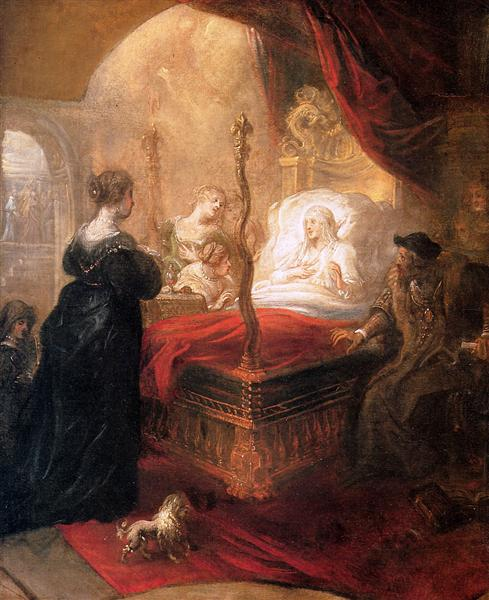 Holy Franciscus Announces Birth of Son - Theodoor van Thulden
