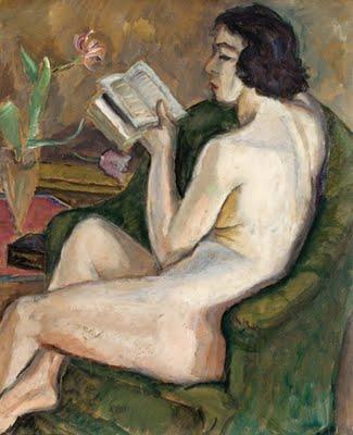 Reading Nude (Nu à la Lecture) - Theodor Pallady