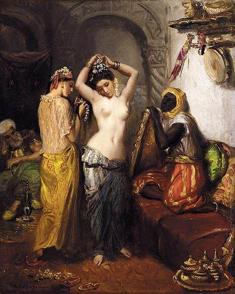 Le Harem, 1852 - Theodore Chasseriau