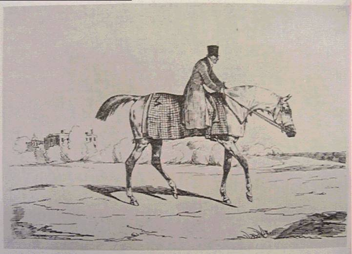 English Jockey, 1820 - Théodore Géricault