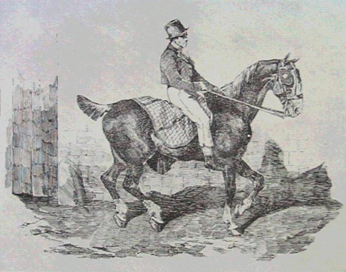 Horsecarriage, 1820 - Théodore Géricault