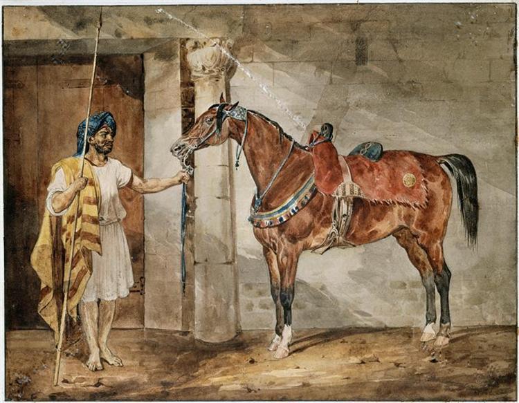 Horse (Eastern) - Théodore Géricault