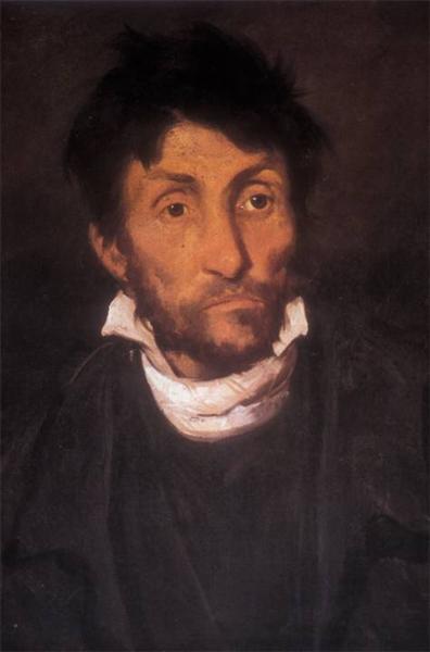 Portrait of a Kleptomaniac - Théodore Géricault
