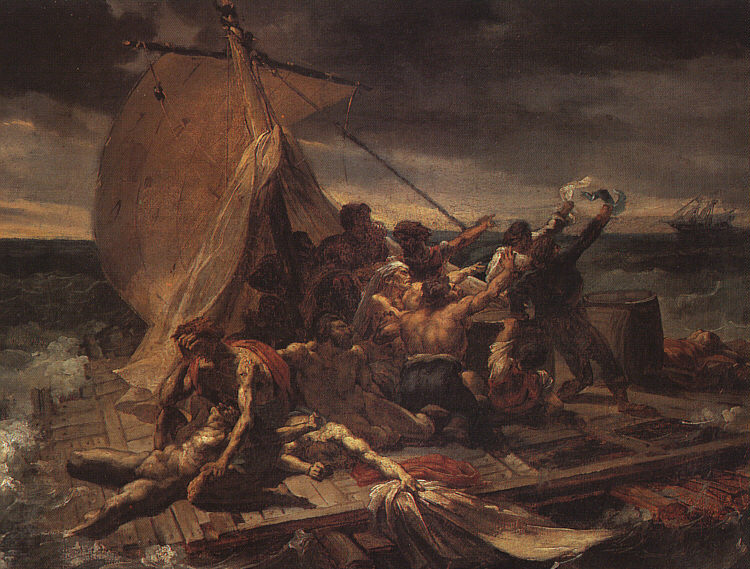 Study for The Raft of the Medusa, 1819 - Theodore ...