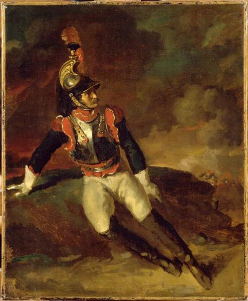 The Wounded Cuirassier, 1814 - Théodore Géricault