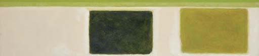 Double Green Sun-Box, 1967 - Theodoros Stamos