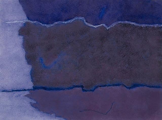 Infinity Field, Lefkada Series (For C.D. Friedrich), 1981 - Theodoros Stamos