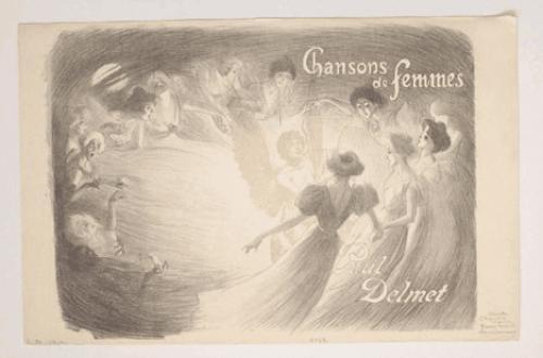 Chansons de Femmes, 1897 - Théophile Alexandre Steinlen