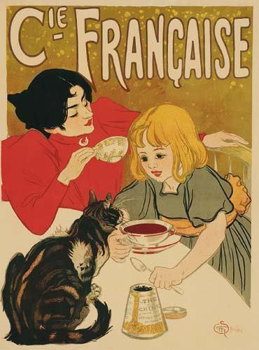 Compagnie Francaise des Chocolats et des Thes, 1895 - Theophile Steinlen