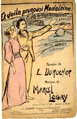 Et Voila Pourquoi Madeleine, 1890 - Theophile Steinlen