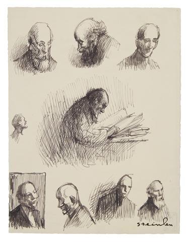 Figure studies - Theophile Steinlen
