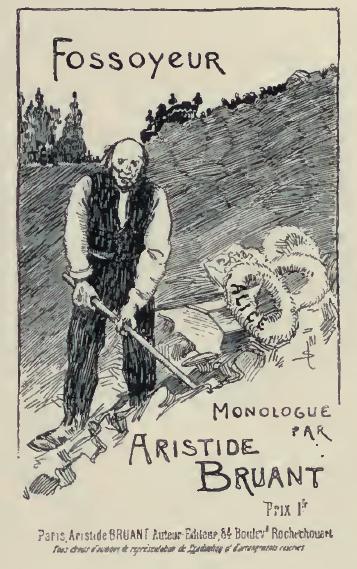 Fossoyeur, 1891 - Theophile Steinlen