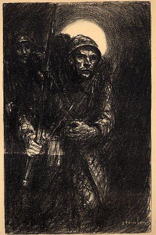 La Guerre, 1918 - Theophile Steinlen