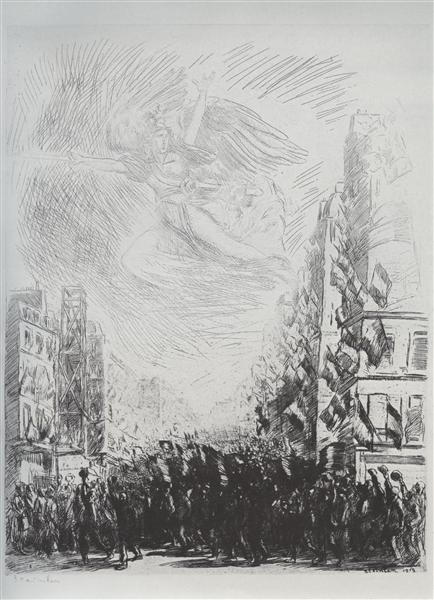 La Marseillaise, 1915 - Theophile Steinlen