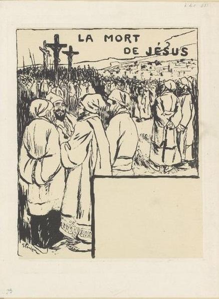 La Mort de Jesus, 1894 - Theophile Steinlen