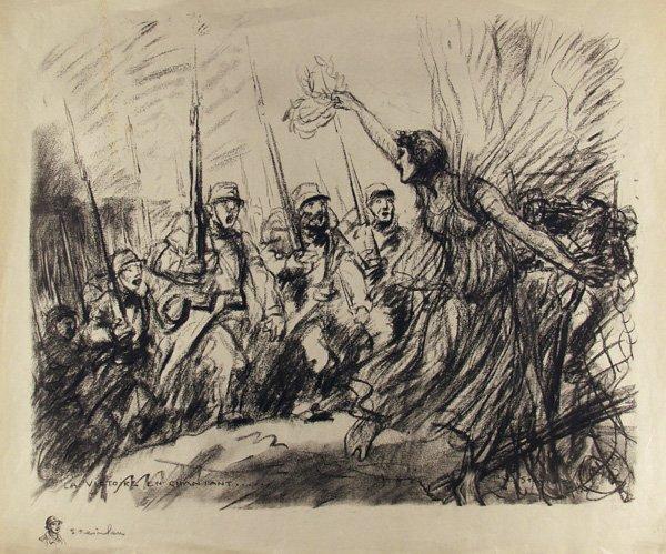 La Victoire en chantant - Theophile Steinlen