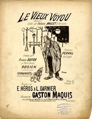 Le Vieux Voyou - Theophile Steinlen