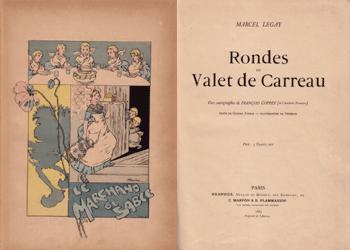 Legay Rondes du Valet de Carreau - Theophile Steinlen