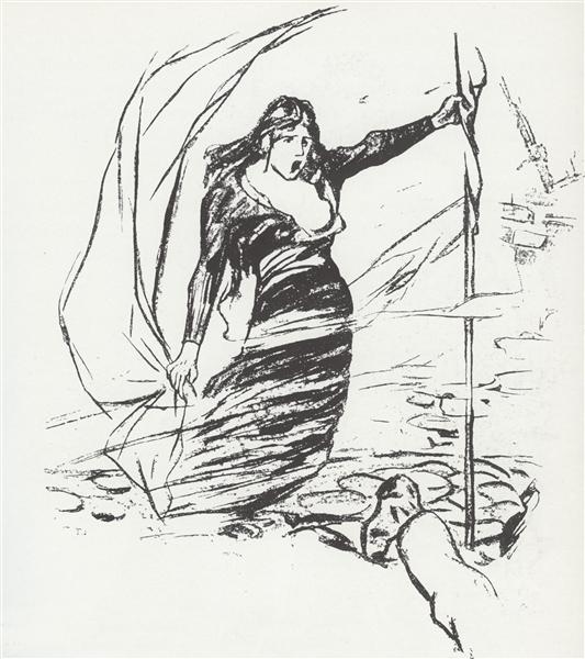 Mai 1871, 1894 - Теофіль Стейнлен