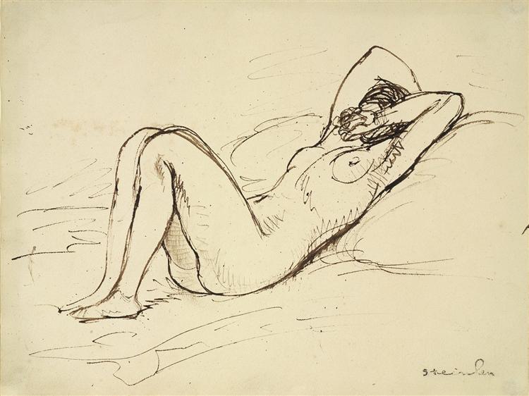 Nude - Theophile Steinlen