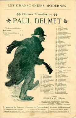 Oeuvres Nouvelles de Paul Delmet - Theophile Steinlen
