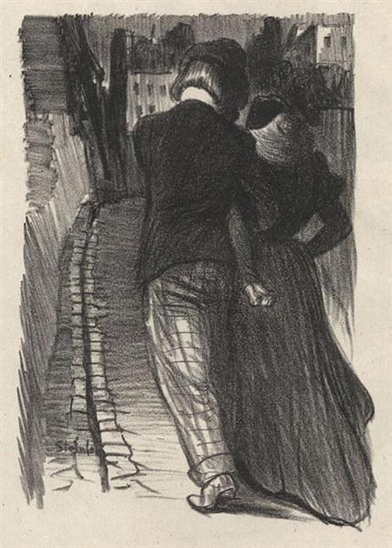 Qu-avez Vous Fait, 1899 - Théophile-Alexandre Steinlen