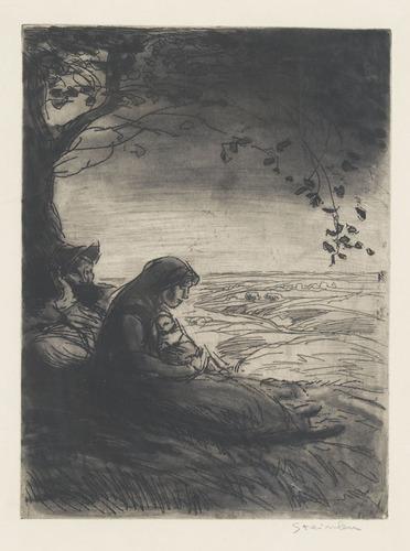 Repos de Vagabonds, 1911 - Théophile Alexandre Steinlen