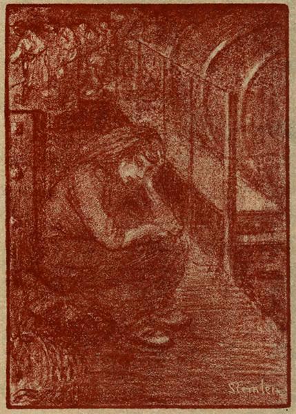 Solitude, 1907 - Theophile Steinlen