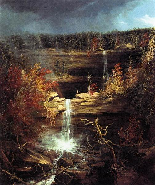 Falls of the Kaaterskill, 1826 - Thomas Cole