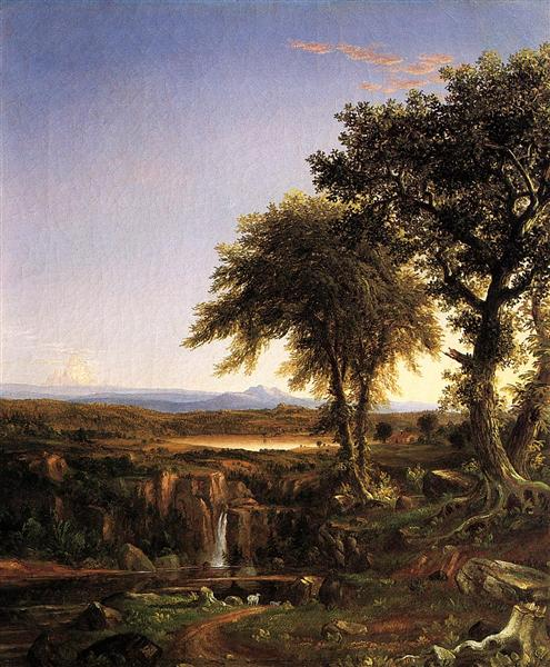 Summer Twilight, 1827 - Thomas Cole