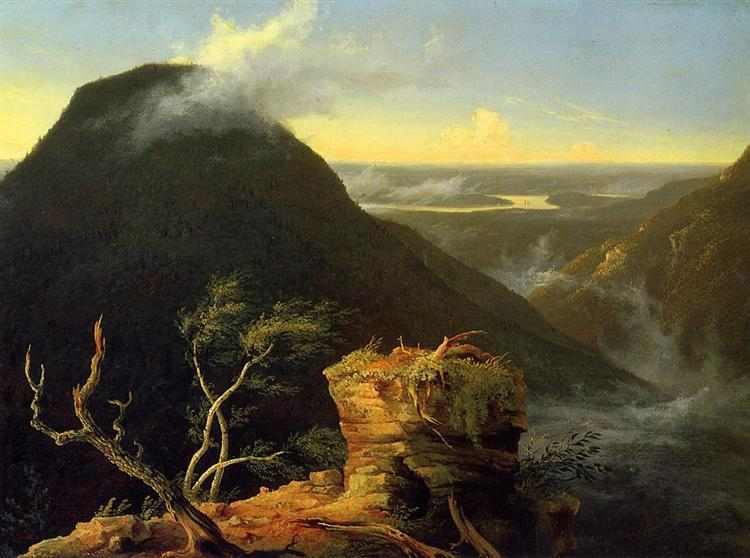 Sunny Morning on the Hudson River, 1827 - Thomas Cole