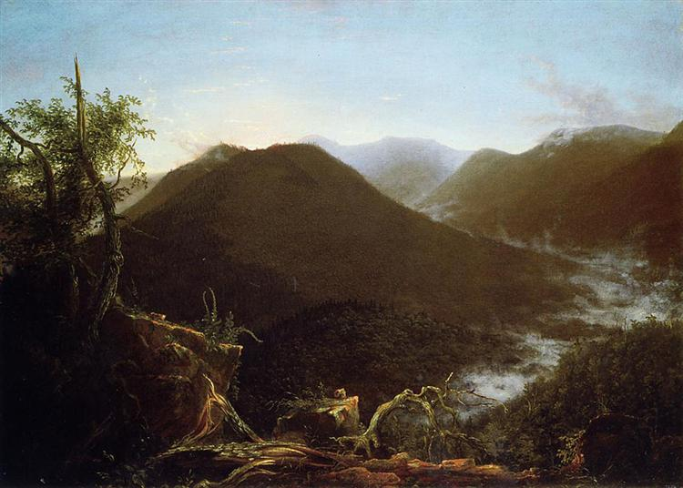 Sunrise in the Catskill Mountains, 1826 - Thomas Cole