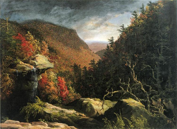 The Clove, Catskills (Double impact), 1827 - Thomas Cole